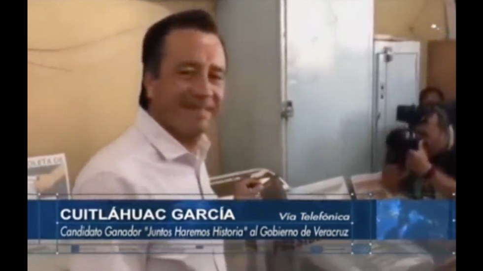 Nueva forma de política se inaugurará en Veracruz: Cuitláhuac García