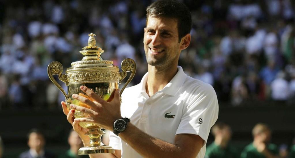 Djokovic gana por cuarta vez el trofeo de Wimbledon - Foto de internet