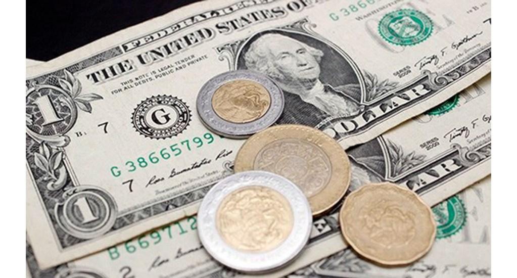 Dólar se sitúa por debajo de la barrera de los 19 pesos - Foto de internet