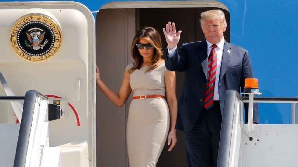 Donald Trump inicia visita de cuatro días en Londres - Foto de AFP / Tolga Akmen