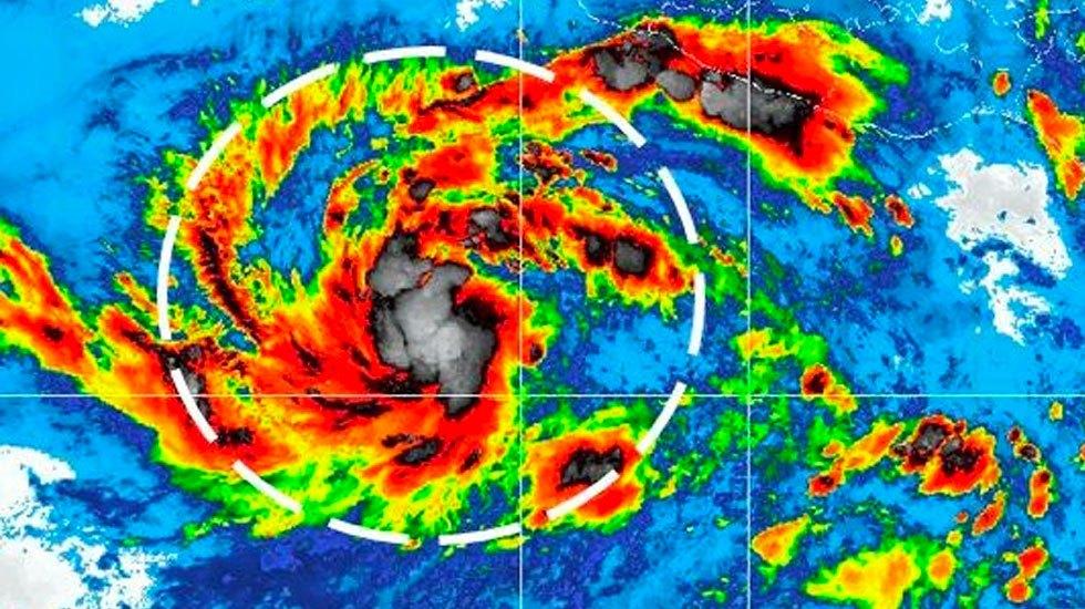 Se forma la tormenta tropical Fabio en costas de Jalisco