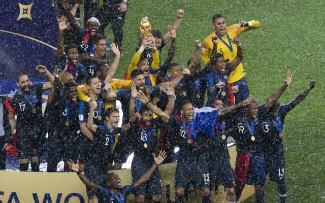 Francia gana la Copa del Mundo - Foto de Mexsport
