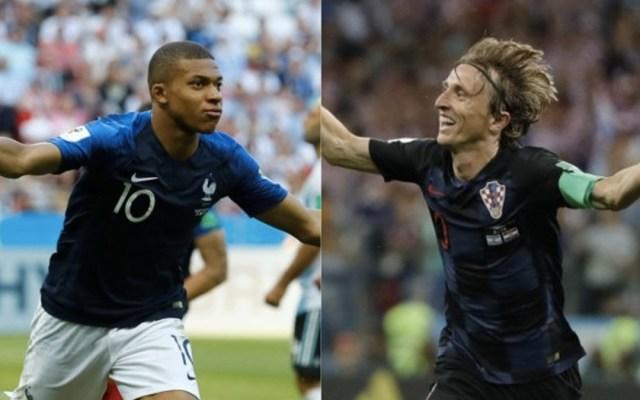 La diferencia en el valor de las selecciones de Francia y Croacia - Foto de Internet