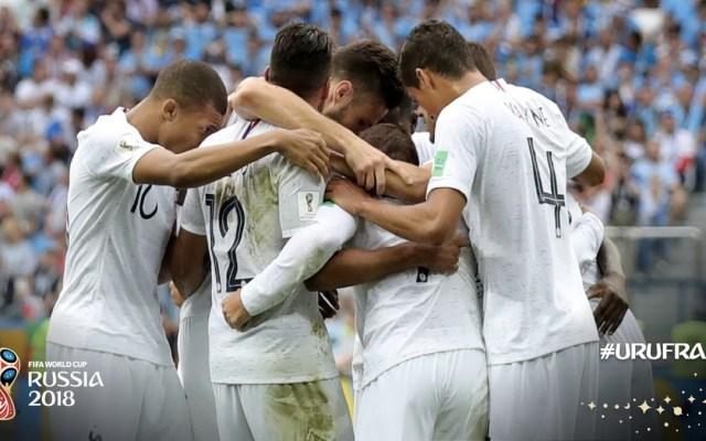 Francia elimina a Uruguay - Foto de @FIFAWorldCup