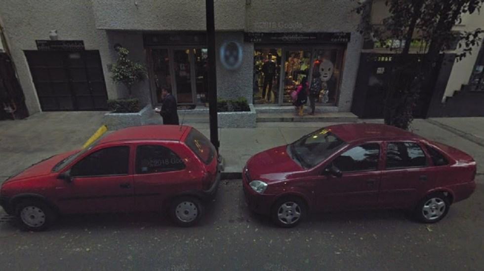#Video Hijo del Santo denuncia robo de autopartes frente a su tienda - Foto de Google Maps