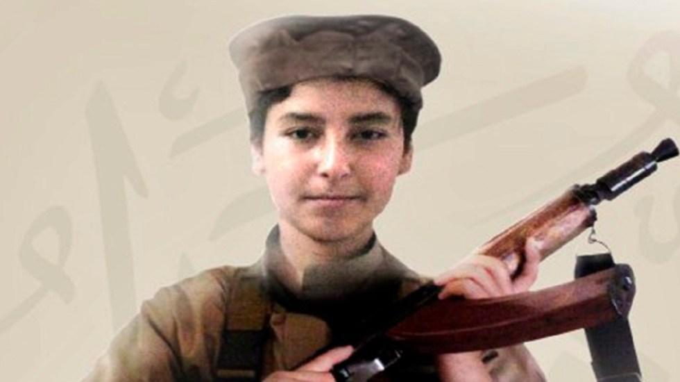 Estado Islámico anuncia muerte en combate del hijo de su líder - Foto del Estado Islámico