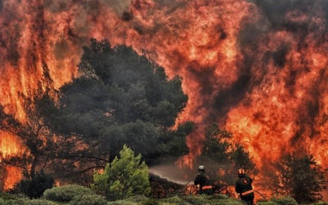 México lamenta las 74 muertes contabilizadas por incendios en Grecia - Foto de AFP / Angelos Tzortzinis