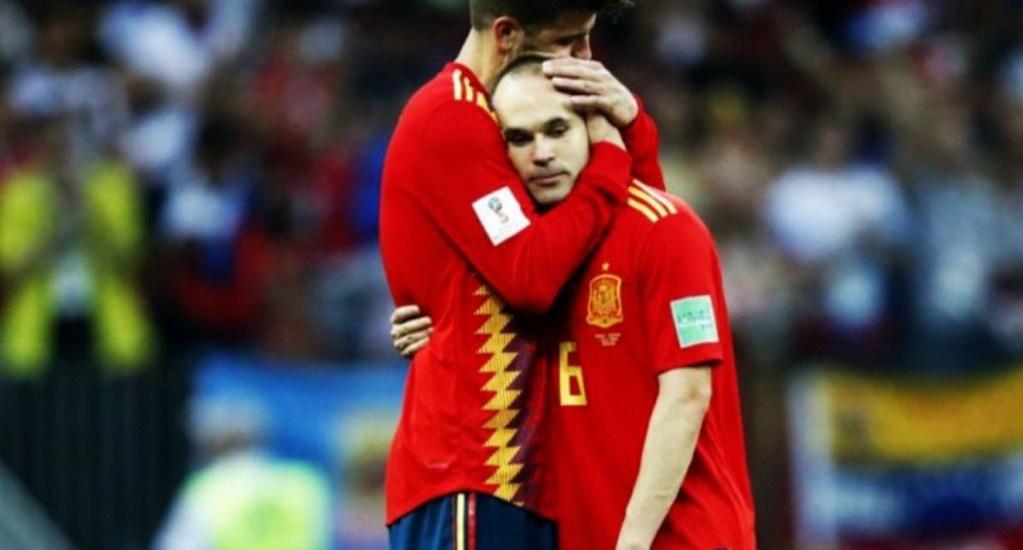Andrés Iniesta se despide de La Roja con emotivo mensaje