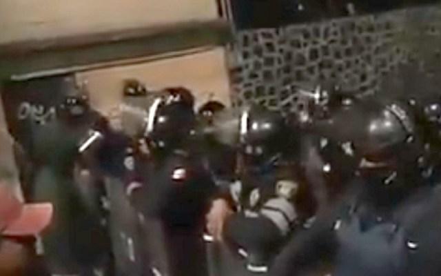 Intentan linchar a presuntos ladrones en Santo Tomás Ajusco - Foto Captura de Pantalla