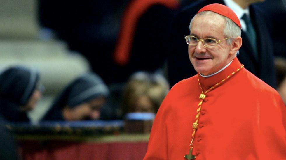 Muere el cardenal Tauran, quien anunció al papa Francisco - Foto de AFP/Vizenzo Pinto