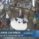 El mundo comienza a reaccionar por represión en Nicaragua: Jorge Castañeda