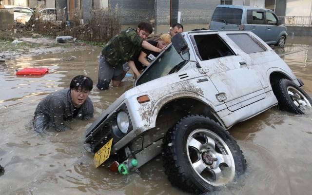 México envía sus condolencias a Japón por muertos en inundaciones - Foto de AFP/Jiji Press