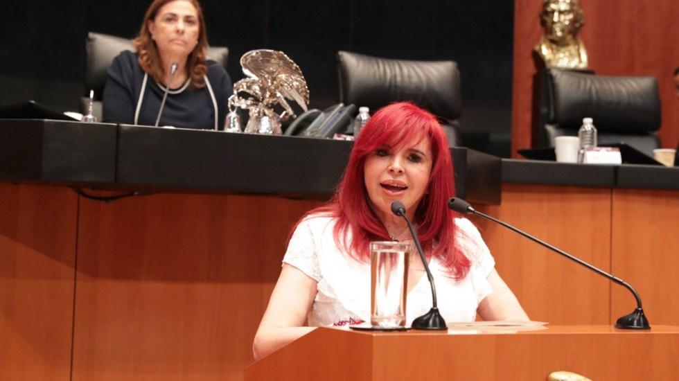Layda Sansores regresa al Senado - Foto de Senado de la República