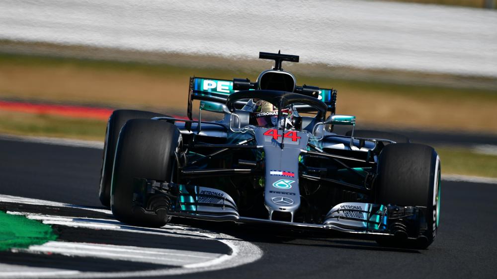 Hamilton amplía contrato con Mercedes hasta 2020 - Foto de Andrej Isakovbic / AFP