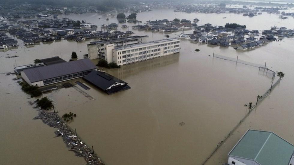 Asciende a 76 cifra de muertos por inundaciones en Japón - Foto de AP