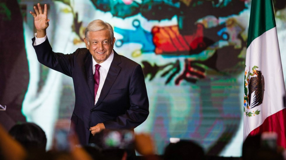 """""""Quiero pasar a la historia como un buen presidente"""": AMLO - Foto de Getty Images"""