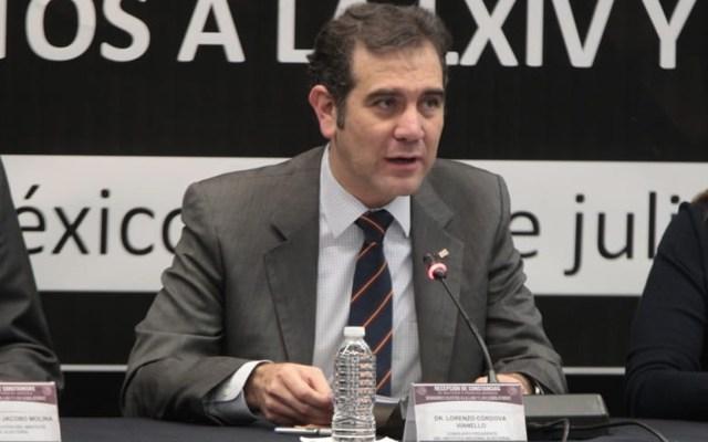 Elecciones fueron la mayor prueba para el INE: Lorenzo Córdova - Foto de Twitter INE