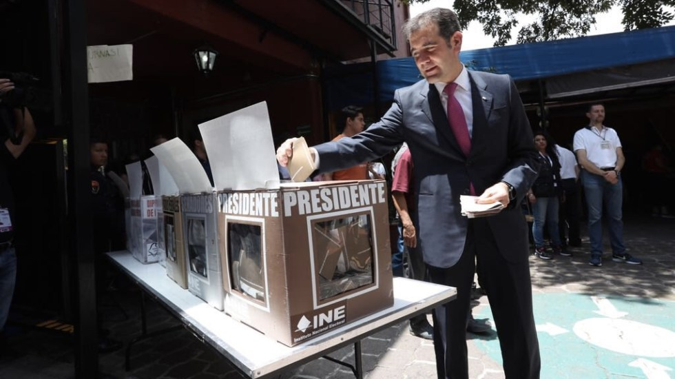 Elecciones 2018 demostraron ser ancla de estabilidad política: Córdova - Foto de INE
