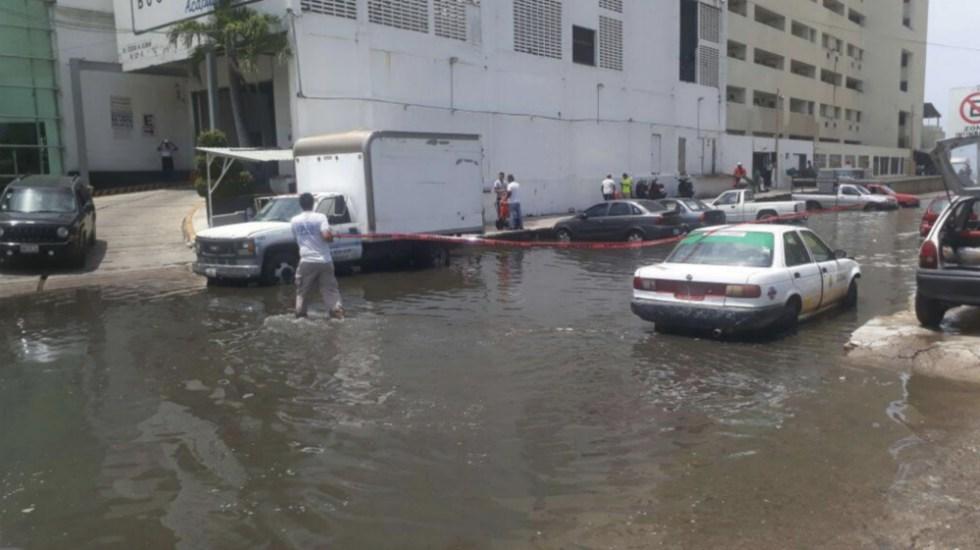 Advierte Protección Civil de Guerrero por Mar de Fondo - Foto de @AcapulcoGob