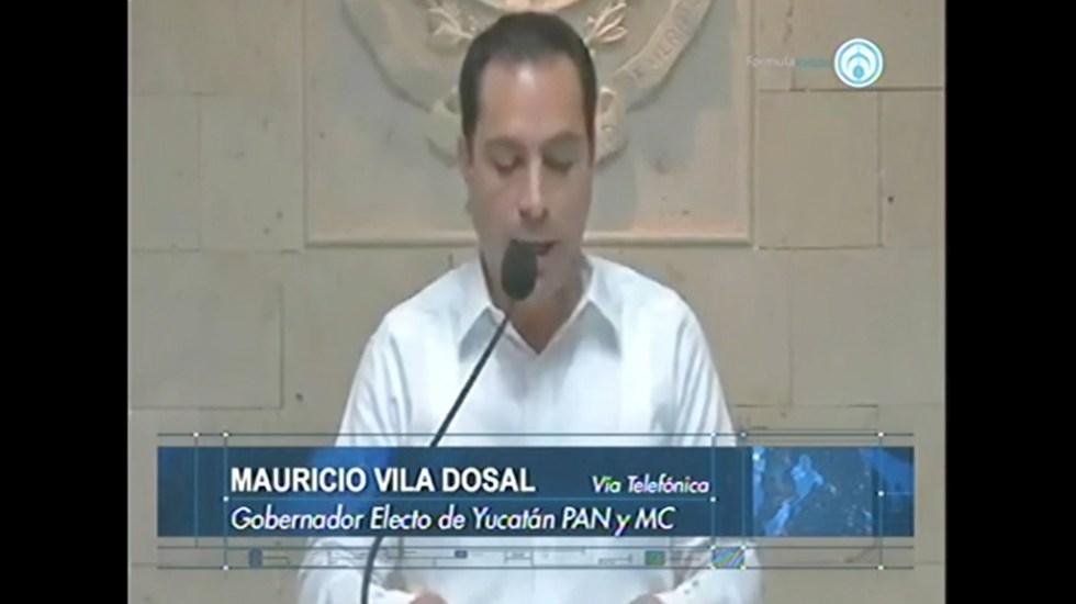 Vamos a construir el Yucatán que todos queremos: Vila Dosal
