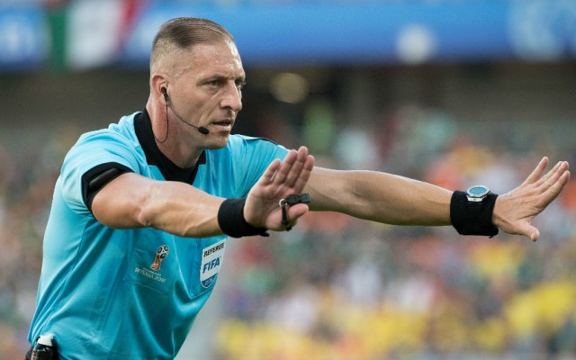 Argentino Pitana arbitrá el Francia-Uruguay del Mundial 2018 - Néstor Pitana. Foto de Mexsport.