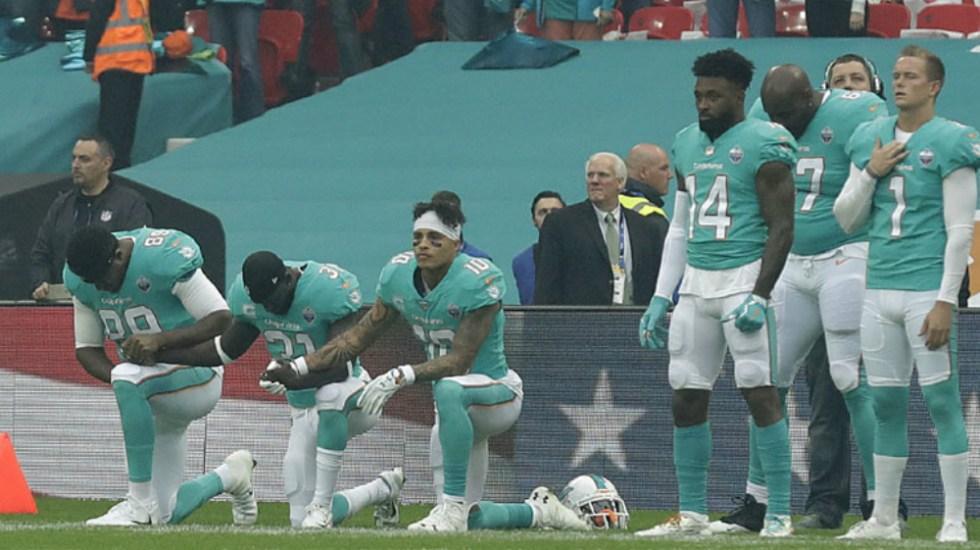NFL y NFLPA frenan a política sobre protestas del himno nacional - Foto de AP