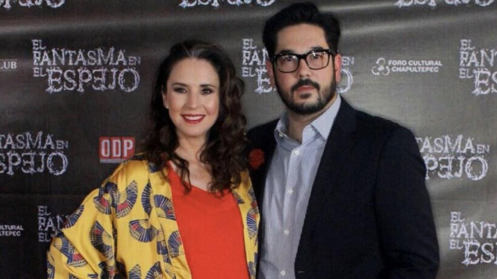 Asaltan a actriz Andrea Torre en la Benito Juárez - Foto de Twitter