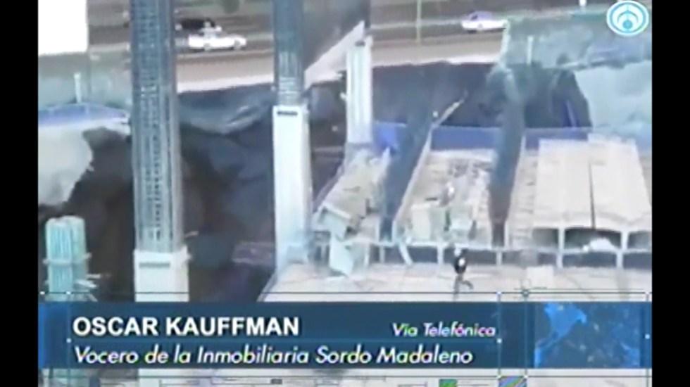 Niega vocero de Plaza Artz que derrumbe fuera programado