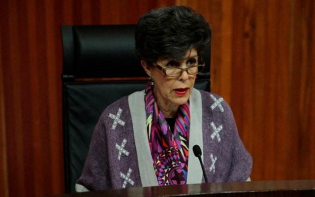 Otálora será la primera magistrada en entregar constancia de mayoría a presidente - Foto de Notimex