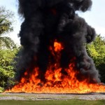 PGR incinera dos toneladas de droga en Chihuahua