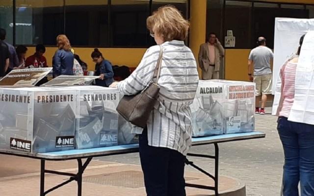 López Obrador aventaja en encuestas de salida de Mitofsky - Foto de @INEMexico