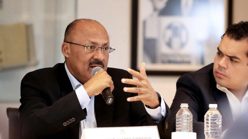 René Juárez reitera llamado de reflexión profunda a priistas - Foto de @JuarezCisneros