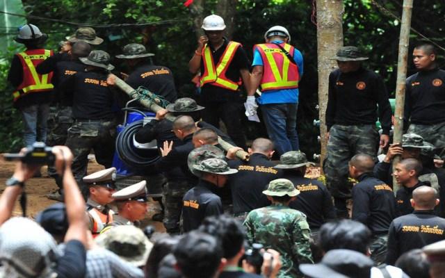 Cuatro niños tailandeses todavía se encuentran atrapados en la cueva - Foto de Xinhua