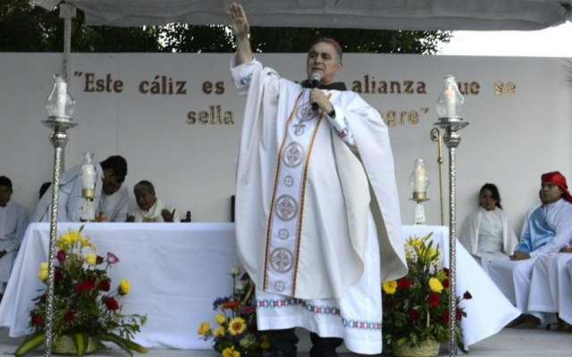 Salvador Rangel Mendoza, obispo de la Diócesis de Chilpancingo-Chilapa. Foto de Cuartoscuro