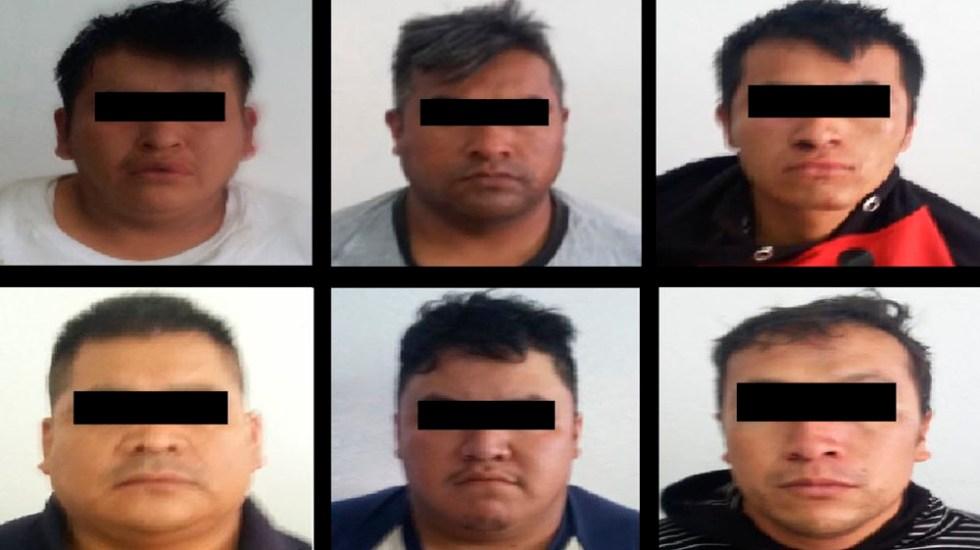 Capturan a banda de secuestradores y liberan a víctima en Chalco - Foto de @SS_Edomex