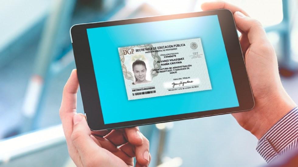 SEP ha emitido 260 mil cédulas profesionales electrónicas - Foto de internet