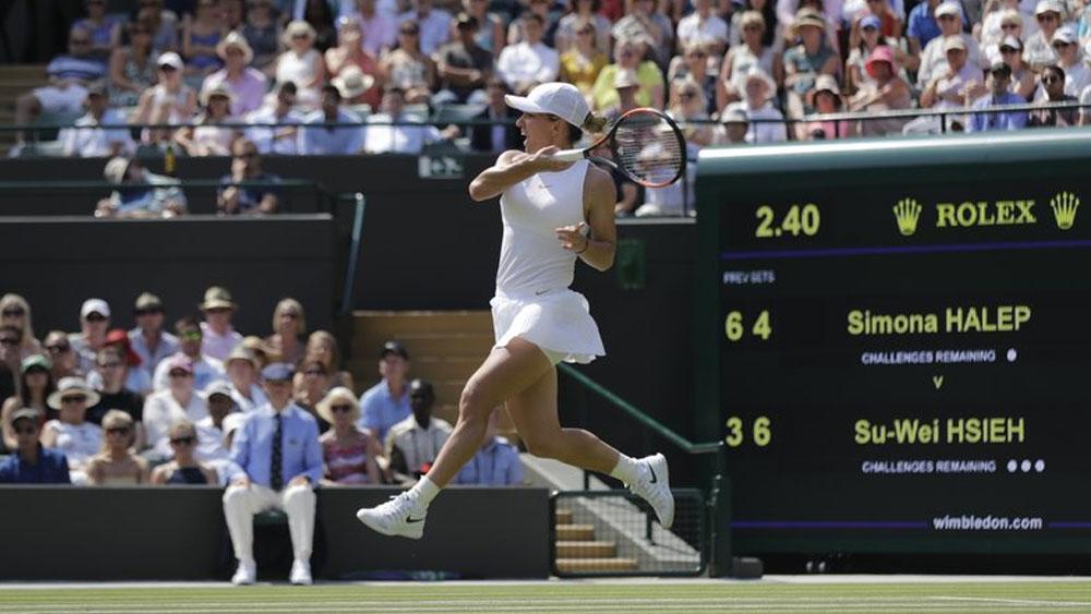Su-Wei Hsieh dejo afuera de Wimbledon a Simona Halep
