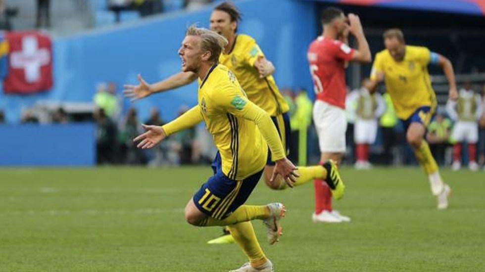 Suecia gana y avanza a cuartos - Foto de Getty
