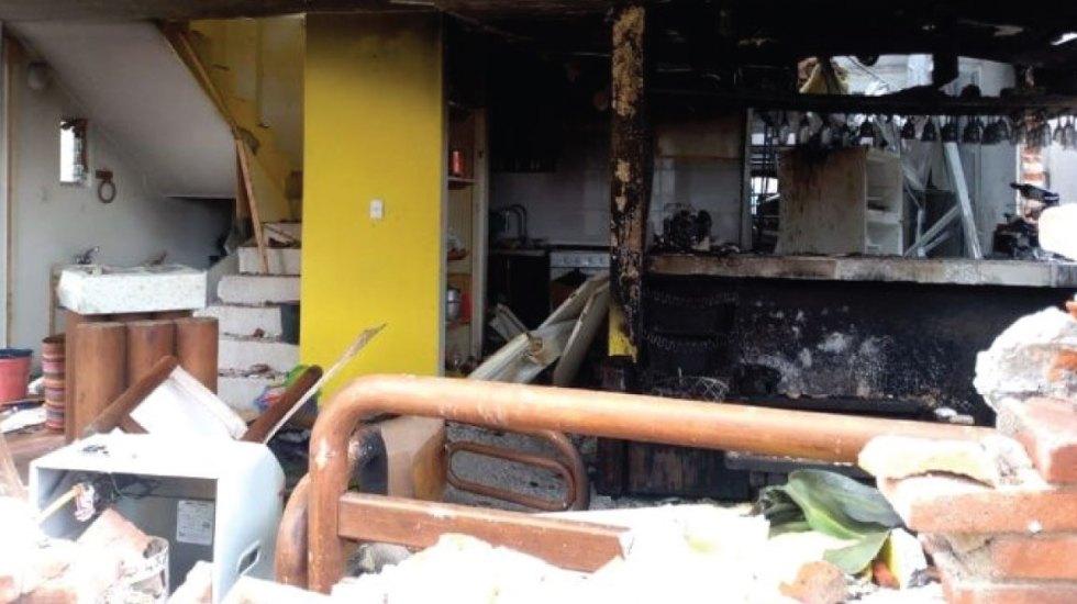 Acumulación de gas causa explosión en Tlalpan
