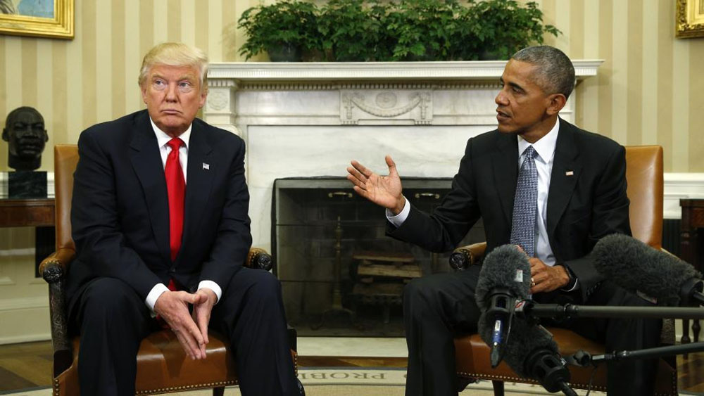 Trump culpa a Obama por ataque cibernético ruso