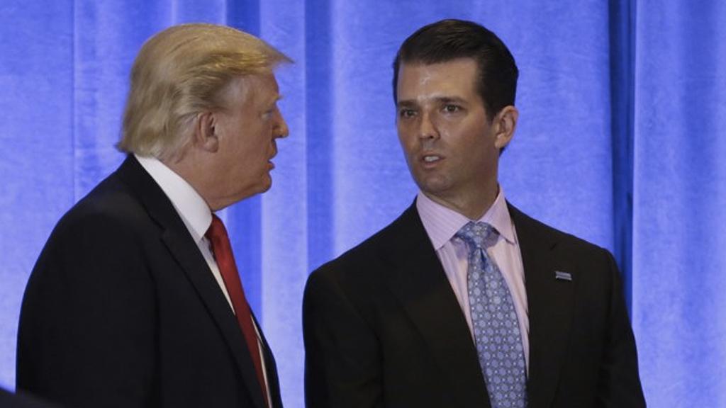 No sabía de la reunión de mi hijo con rusos: Trump - Foto de Reuters