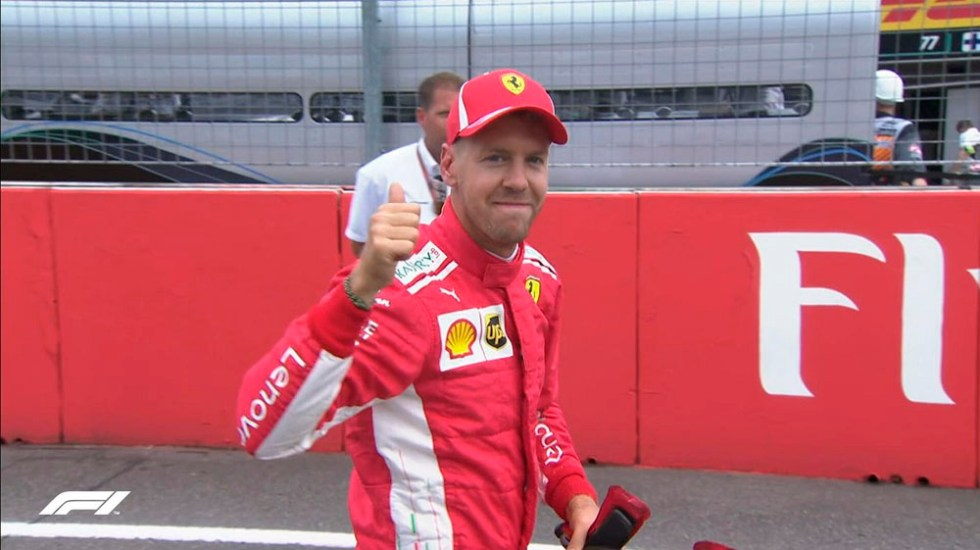 Vettel logra la pole del Gran Premio de Alemania - Foto de @F1