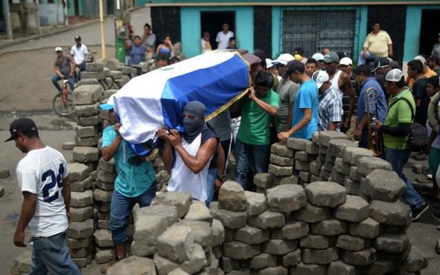 Violenta operación gubernamental en Masaya deja dos muertos en Nicaragua - Foto de AFP