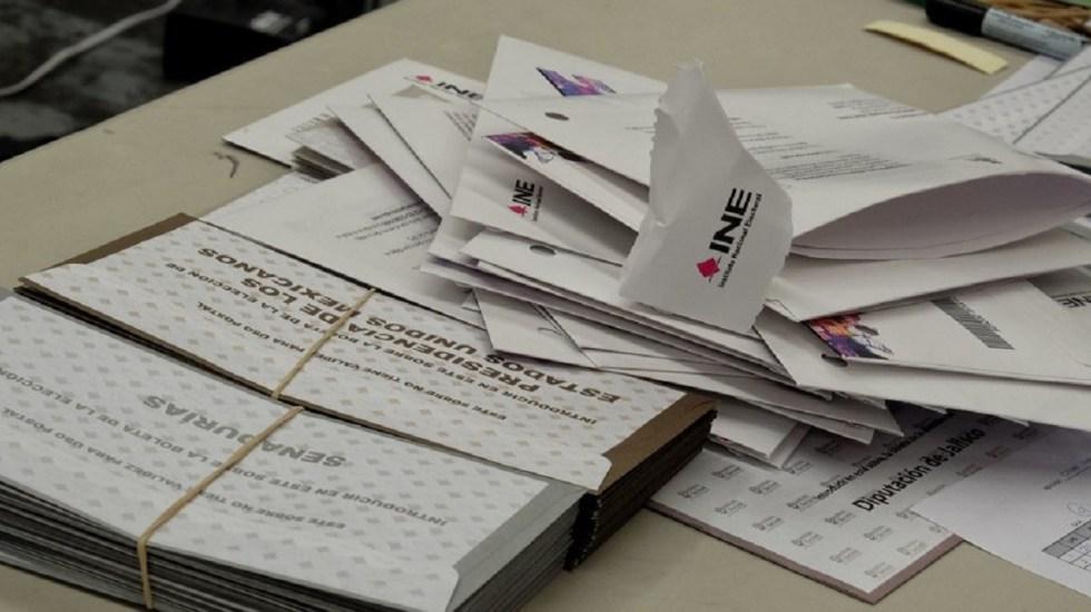Concluye escrutinio y cómputo de votos del extranjero - Foto de @ReporteIndigo
