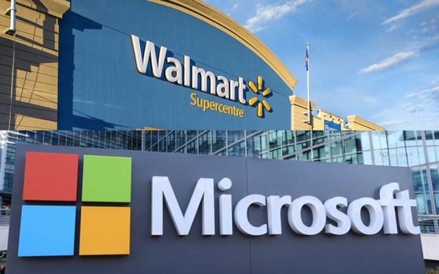 Walmart se alía con Microsoft para competir con Amazon - Foto de internet