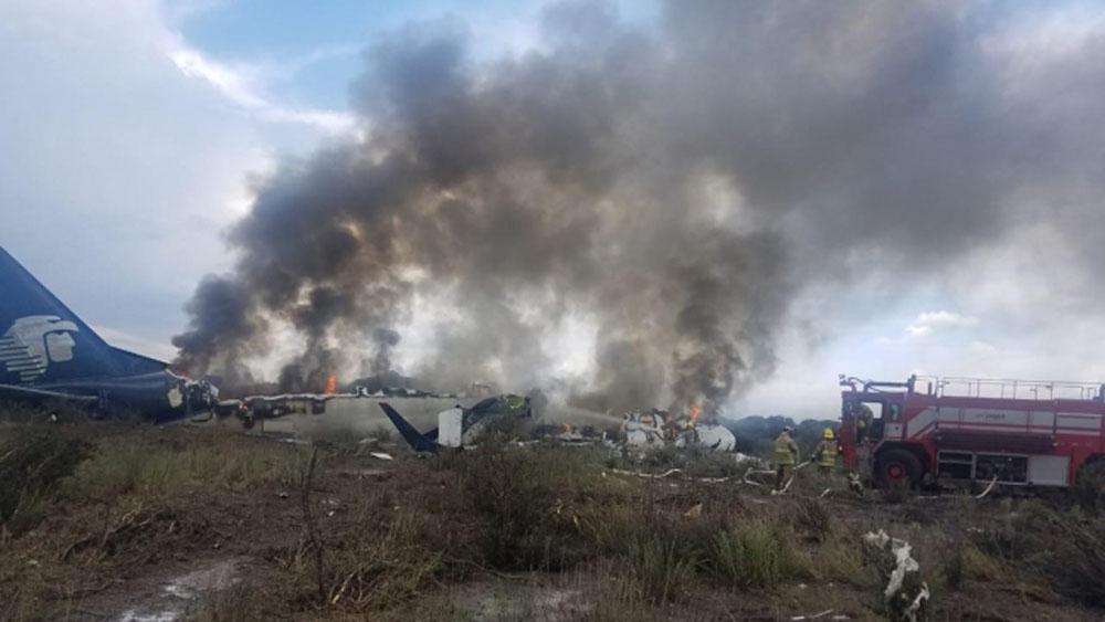 Diversas condiciones impidieron despegue de avión de Aeroméxico: ASPA - Foto de Notimex