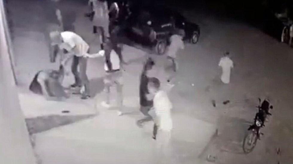 #Video Pandilla asesina a mujer en Brasil