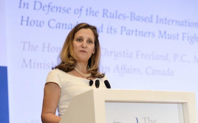 Canadá retomará las negociaciones del TLCAN en Washington - Foto de @cafreeland