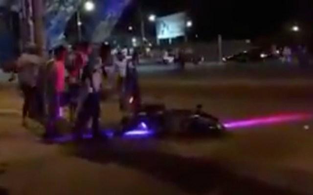Seguidores del Celaya acusan a policías de disparar en su contra - Foto de Internet