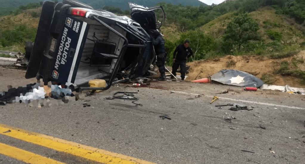 Choque de patrulla en la Siglo 21 deja cinco muertos y cinco heridos - Foto de Quadratín